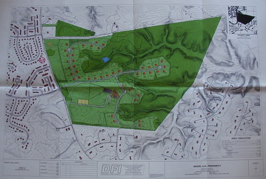 Underwood Road Equestrian Development Map