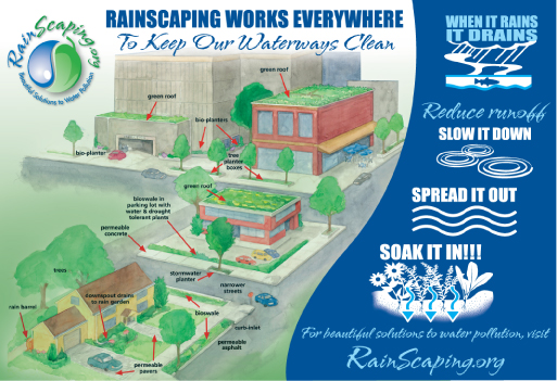 Rain Scaping Works Everywhere