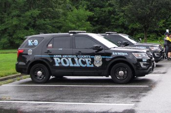 K9 police vehicles