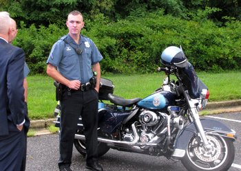 Anne Arundel County Police motor cycle