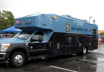 Anne Arundel Police Mobile Command Center